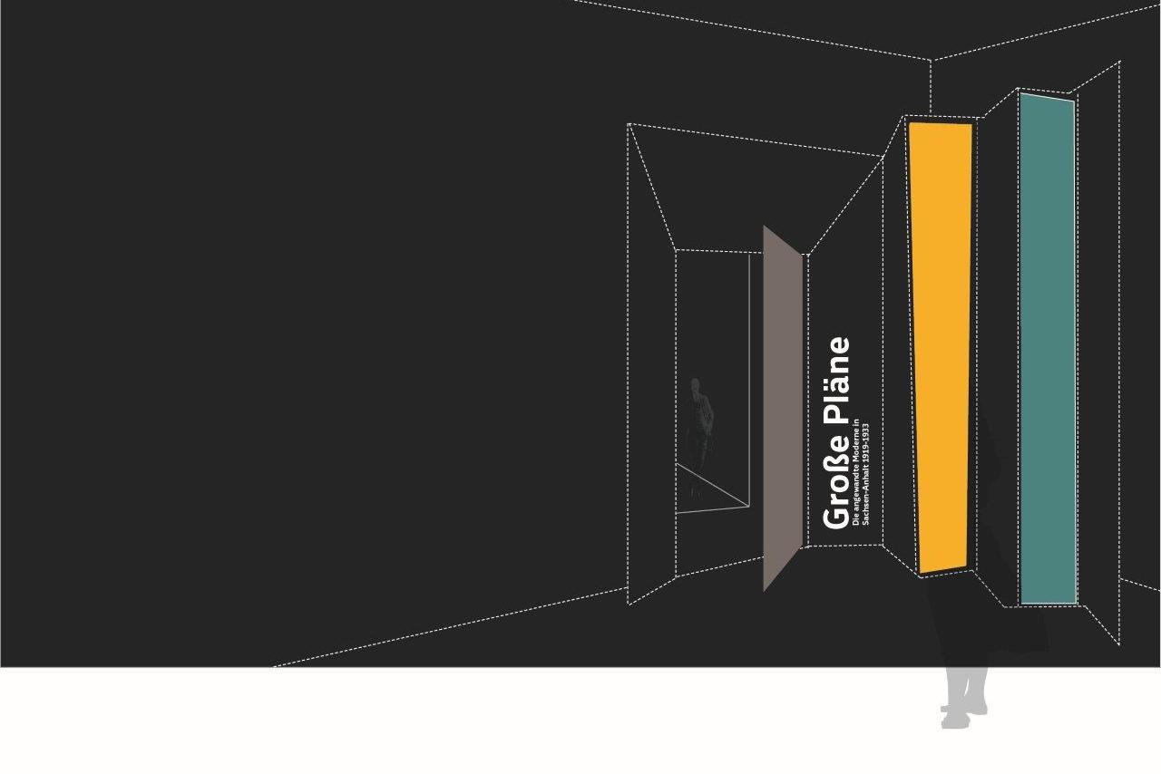 gro e pl ne bauhaus dessau studio neue museen. Black Bedroom Furniture Sets. Home Design Ideas