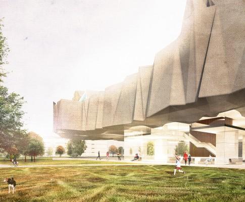Bauhaus Museum Dessau Wettbewerb